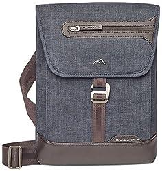Brenthaven Collins Vertical Messenger Bag, Graphite