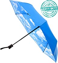 Crown Coast Umbrellas – Compact Blue-…