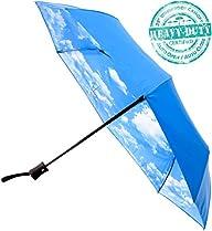 Crown Coast Umbrellas – Compact Blue-…