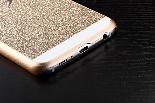 Samsung Galaxy S6 Case, Luxury Beauty Diamond Shiny Sparkling Glitter with Crystal Rhinestone Premium Pc Hard Case Cover for Samsung + Bonus Top Selling Logo Stylus top cover top case with flash board top lcd fpc unit for nikon d610 slr camera repair replacement part