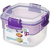 Sistema 21320 Snacks Container, 400ml