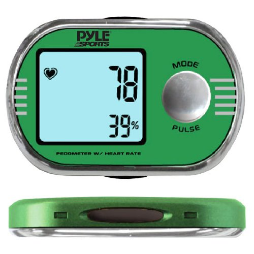 Pedometer personalized calibration for walking and running W/ ECG Finger Touch