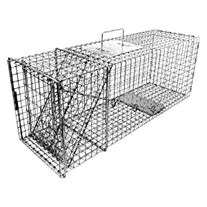 Tomahawk Original Series Rigid Trap for Raccoons Feral Cats Badgers by Tomahawk