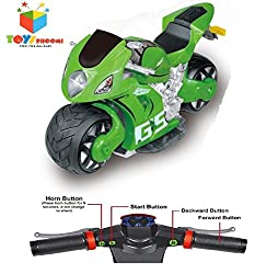 Toys Bhoomi Ultra Fast 4D Moto 2.4Ghz 1:8 Scale Gravity Sensor Handlebar Remote Control Rc Drift