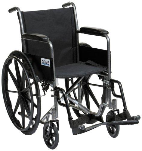 Drive medical ssp118fa sf sedia a rotelle sportiva for Film sedia a rotelle