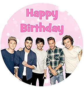 One Direction Birthday Cake Toppers