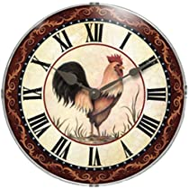Infinity Instruments Chanticleer Wall Clock