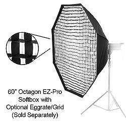 Fotodiox EZ-Pro Octagon Softbox 60 Inch with Speedring for Yongnuo YN565EX, YN560, YN468, YN467, YN465, YN462, YN460