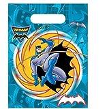 Batman Superhero Party Bags - Pack of 6