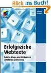 Erfolgreiche Webtexte: Online-Shops u...