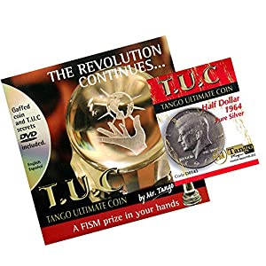 MMS Tuc Pure Half Dollar Tango Trick Kit with DVD, Silver