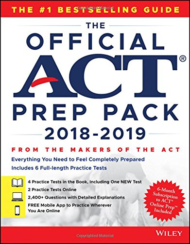 The Official ACT Prep Pack with 6 Full Practice Tests (4 in Official ACT Prep Guide + 2 Online) [ACT] (Tapa Blanda)