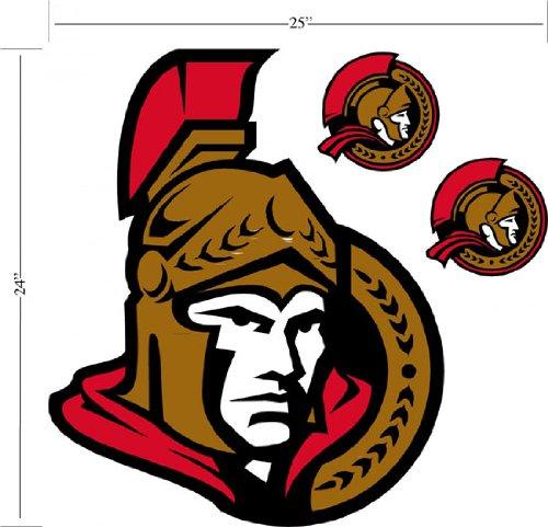 Ottawa Senators Wallmarx Large Wall Decal
