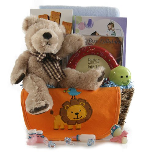 Boys Will Be Boys Baby Gift Basket