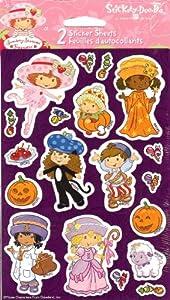 Strawberry Shortcake Halloween Theme Scrapbook Stickers