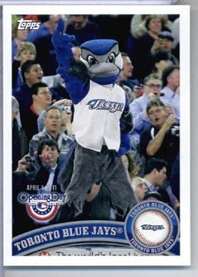 2011 Topps Opening Day Mascots Baseball Card #M24 Toronto Blue Jays - Toronto Blue Jays - MLB Trading Card