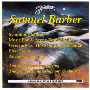 samuel barber first essay for orchestra op 12 The third essay, op 47, is a short orchestral work composed by samuel barber in 1978 the score is dedicated to audrey sheldon.