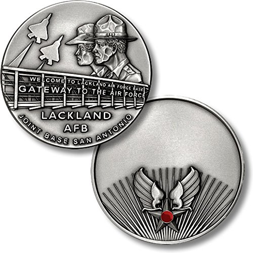 Lackland AFB Engravable Challenge Coin