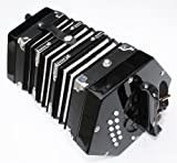 Cherrystone Accord�on Concertina noir 2 x 10 touches