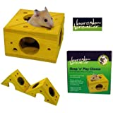 Rosewood Boredom Breaker Small Animal Activity Toy Sleep-n-Play Cheese