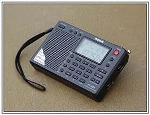 PL-380オールバンド・デジタル・ラジオ TECSUN DSP処理(色:ブラック)【日本語説明書】
