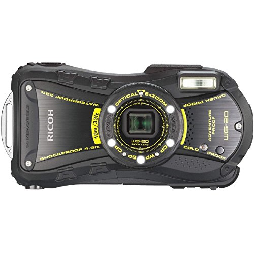 Ricoh WG-20 14MP Waterproof Shockproof Coldproof Crushproof 5x Opt Zoom