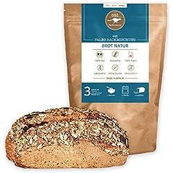 Brotbackmischung mit Chia von eat Performance (Paleo, Bio, Superfood, Brot ohne Getreide, glutenfrei, laktosefrei, low carb, Eiweißbrot)