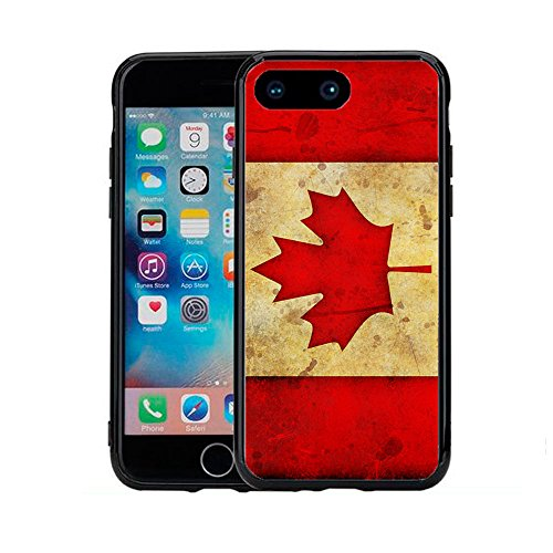 Canada Canadian Flag Grunge For Iphone 7 Plus (5.5) Case Cover By Atomic Market (Canada Iphone 4 Case compare prices)