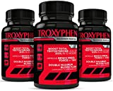 TROXYPHEN ELITE Ultimate Muscle Building Supplement | Testosterone Booster + NO2 + Growth + Energy | NEW FORMULA - GET SWOLE Available Only from truDERMA | 120 Capsules - 30 Day Supply