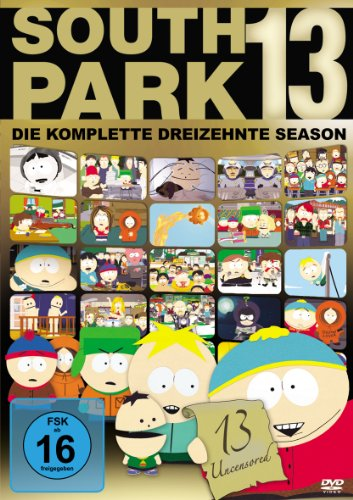 South Park - Season 13 3 DVDs