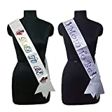 #3: Generic Dad to be Sash and Mom to be Sash Party Propz (Multicolor)