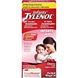 Infants Tylenol Pain Reliever-Fever Reducer, Oral Suspension, Cherry Flavor 2 fl oz (60 ml)
