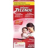 Infants Tylenol Pain Reliever-Fever Reducer, Oral Suspension, Cherry Flavor 2 fl oz (60 ml)
