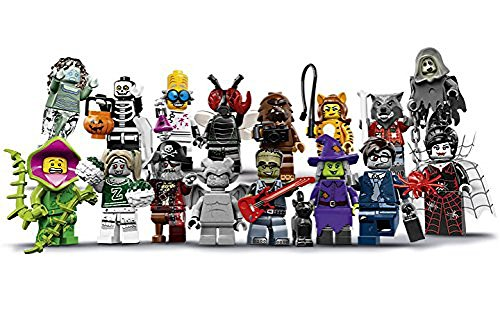 LEGO-Monsters-Series-14-Minifigures-Complete-Set-of-16-Minifigures-71010-Halloween