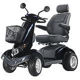 "Aviator All Terrain 4 Wheel Electric Power Scooter Warranty: None, Seat Size: 20"""