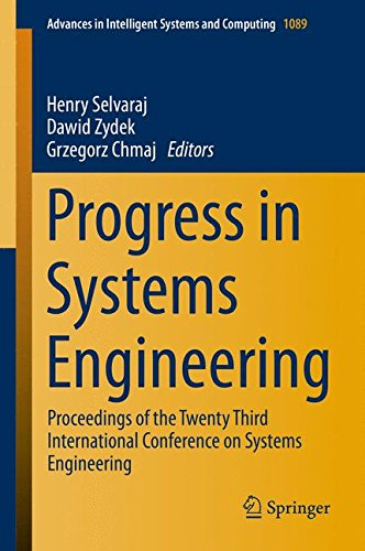 Progress In Systems Engineering: Proceedings Of The Twenty-Third International Conference On Systems Engineering (Advances In Intelligent Systems And Computing)