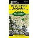 Clingmans Dome, Cataloochee: Great Smoky Mountains National Park (National Geographic Trails Illustrated Map)