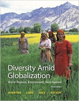 Diversity Amid Globalization World Regions Environment Development 6th Edition