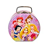 Princess Semi-round Shaped Tin Lunch Box with Clasp & Handle