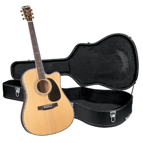 Blueridge BR-70CE Contemporary Series Cutaway Acoustic-Electric Dreadnought Guitar with Hardshell Case lacywear smk 120 gav
