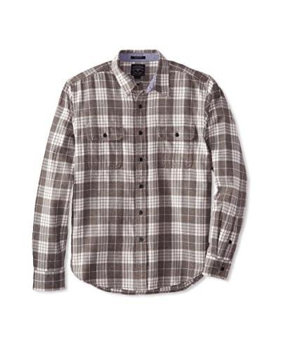 Lucky Brand Men's Thruxton Workwear Plaid Shirt