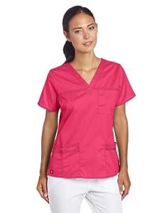 Dickies Scrubs Women's Gen Flex V-Neck Shirt from Dickies