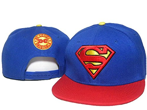 Marvel Superman Cappello regolabile cappelli di baseball (blu, 4)