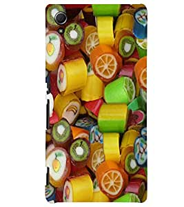 PRINTSWAG FRUITS PATTERN Designer Back Cover Case for SONY XPERIA Z4