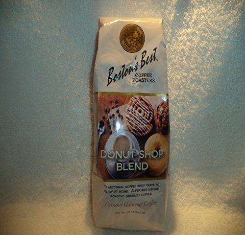 Boston'S Best Coffee Roasters Ground Gourmet Coffee Donut Shop Blend 12 Oz