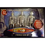 Dr Who 'Age of Steel' Cyberman 3 Figure Set