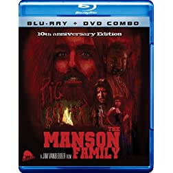 The Manson Family (Blu-ray + DVD Combo)