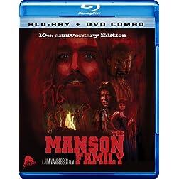 The Manson Family (Blu-ray + DVD Combo)