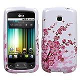 MyBat LG Phoenix / Optimus T Phone Protector Cover - Spring Flowers