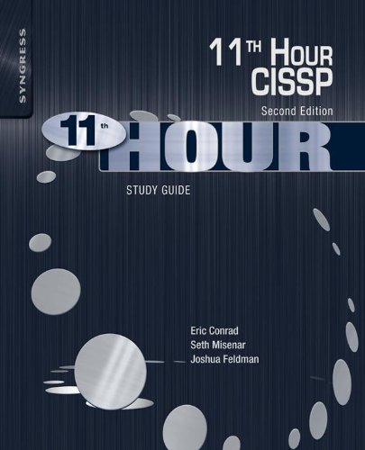 eleventh hour cissp second edition study guide pdf download